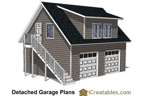 24x28-Garage-Plans