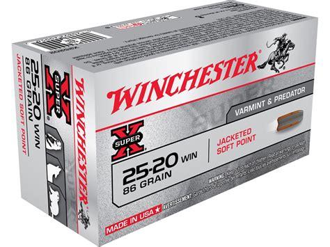 25 20 Ammo
