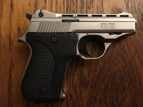 25 Cal Automatic Handgun