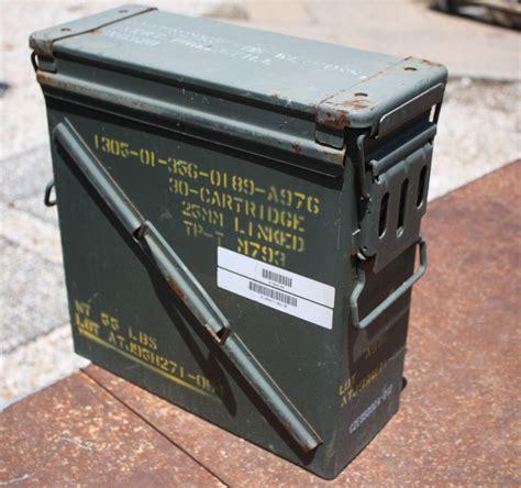 25 Mm Linked Ammo Box