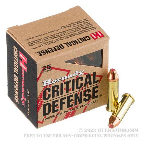25 Rounds Of Bulk 38 Spl Ammo By Hornady - 90gr FTX