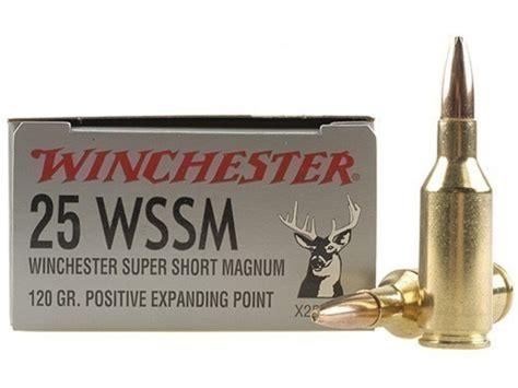 25 Winchester Short Mag Ammo
