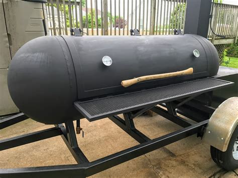 250 Gal Propane Smoker Plans