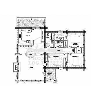 2500 Square Foot Log Cabin Plans