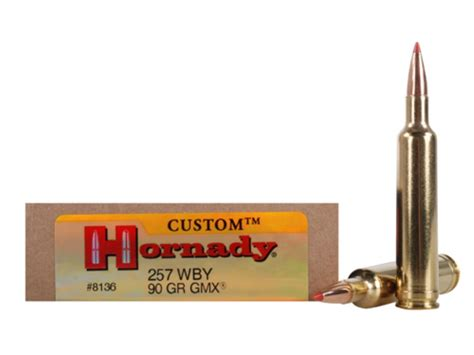 257 Weatherby Hornady Ammo