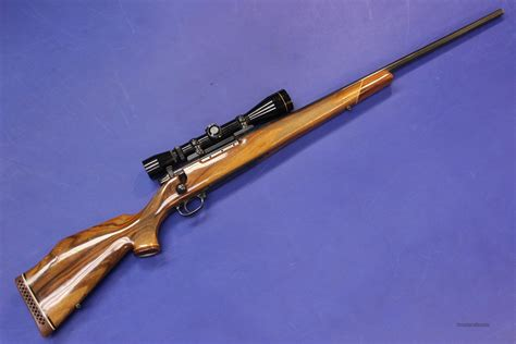 257 Weatherby Rifle With Scope