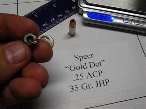 25acp Ammo Tests Youtube