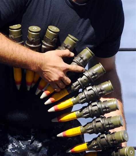 25mm Bushmaster Chain Gun Ammo
