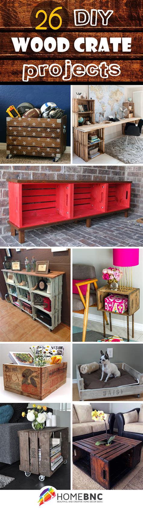 26 Diy Wood Crate Projects Images