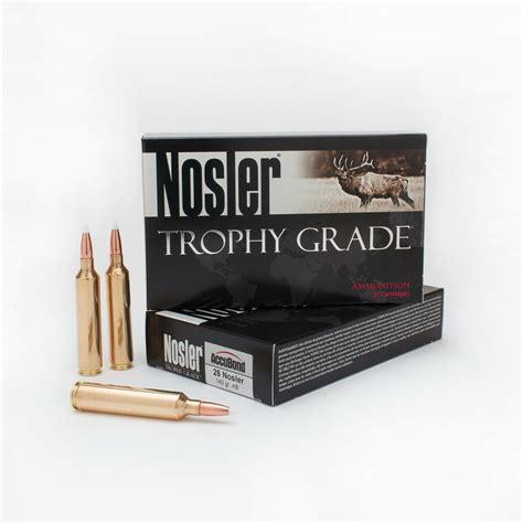26 Nosler Ammo For Sale