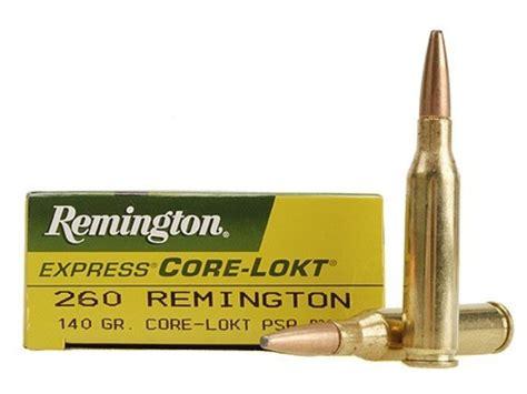 260 Remington Factory Ammo