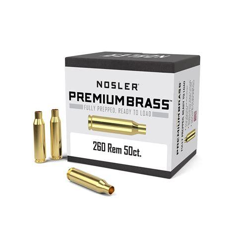 260 Remington Nosler - Bullets Brass Ammunition Rifles