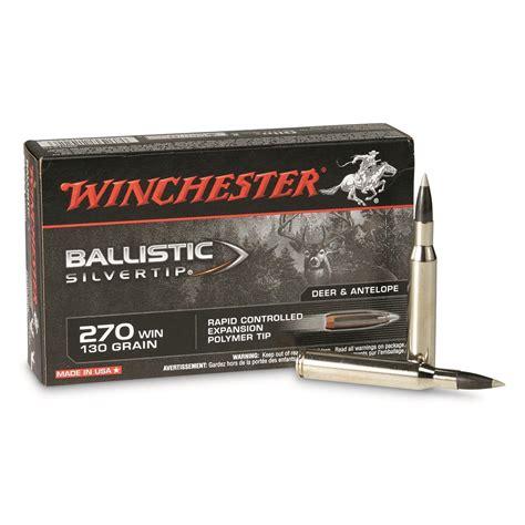 270 Ammo Ballistics