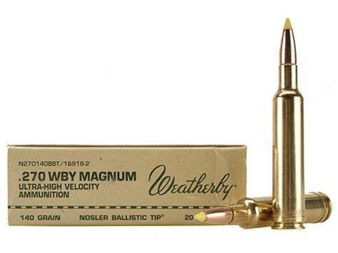 270 Magnum Ammo