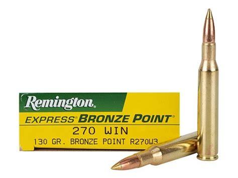 270 Remington Ammo Ballistics