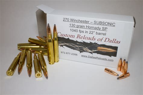 270 Subsonic Ammo Review