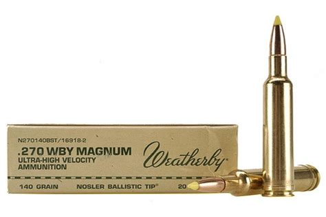 270 Wby Ammo