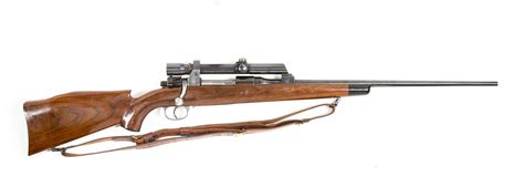 270 Winchester Rifle With Scope