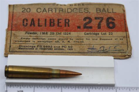 276 Pedersen Ammo For Sale