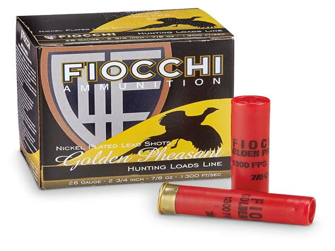 28 Gauge Ammo 3 Inch