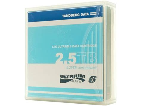 2QM7330 - Tandberg Data LTO Ultrium 6 Data Cartridge