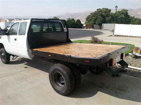 2nd Gen Dodge Diy Flat Bed