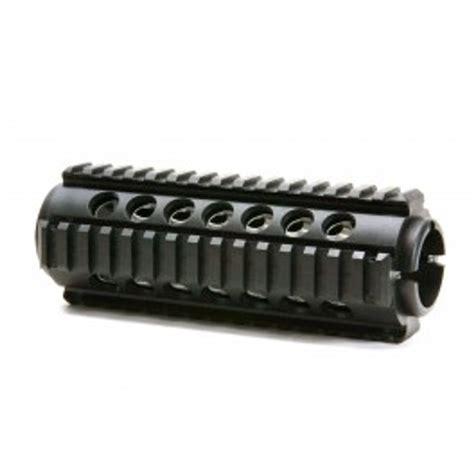 2piece Handguard Quad Rail Ar15 Carbine Length