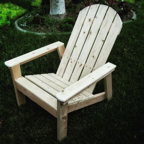 2x4 Adirondack Chair Plan