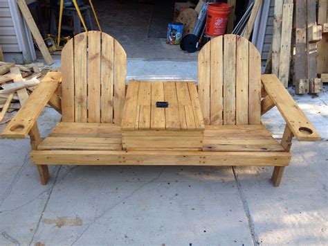 2x4 Adirondack Chair Plans With Ice Chest Middle Plans