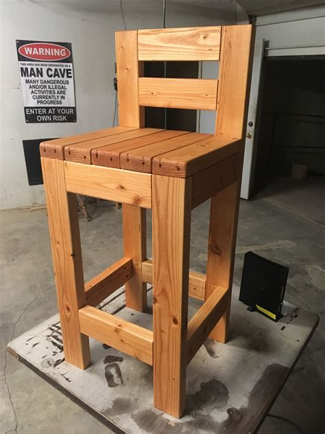 2x4 Bar Stool Plans Guide