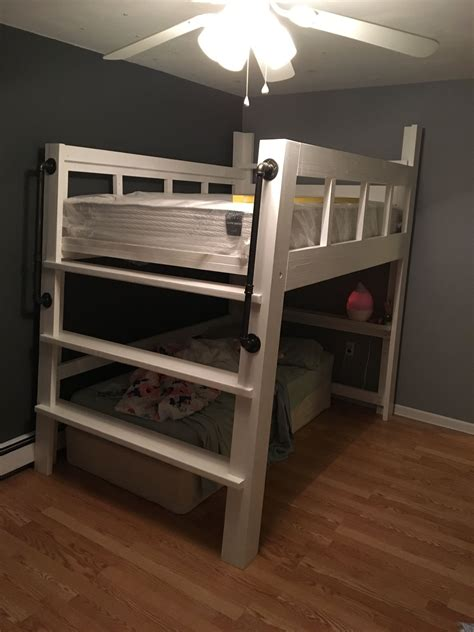 2x4 Bunk Bed Diy Under 40