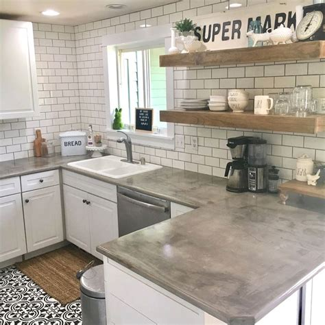 2x4 Cabinets For Concrete Counter