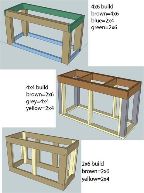 2x4 Free Wood Aquarium Stand Plans