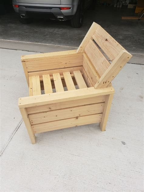 2x4 Kids Chair Plans