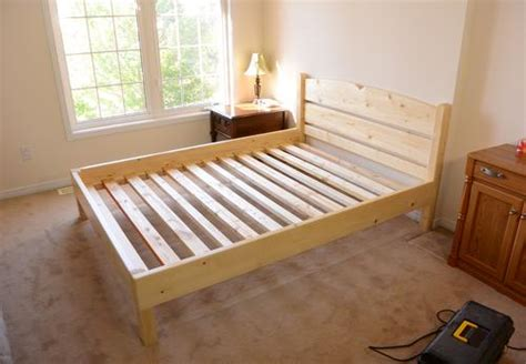 2x4 King Size Bed Frame Plans