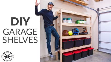 2x4 Overhead Garage Shelving Plans Youtube