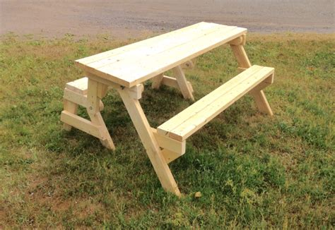 2x4 Picnic Table That Folds