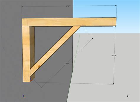 2x4 Shelf Bracket Plans