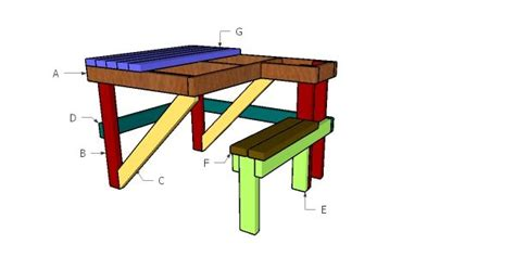 2x4 Shooting Bench Plans