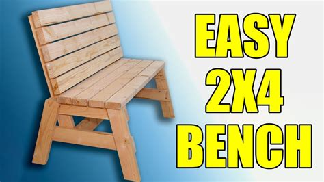 2x4 sitting bench 104 Image