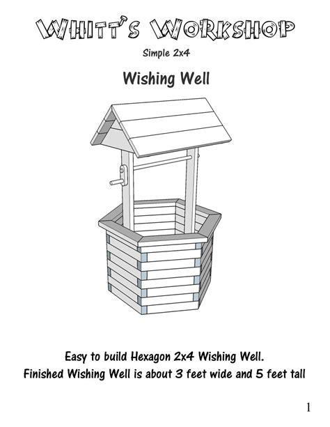 2x4-Wishing-Well-Plans