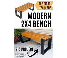 Best 2x4 furniture projects