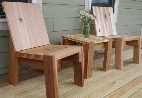 2x4 Wood Chair Plans