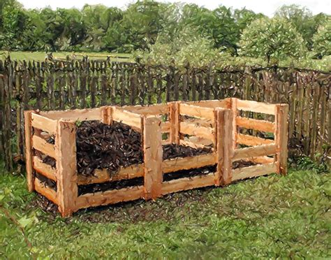 3 Bay Compost Bin Design