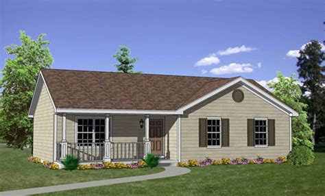 3 Bed 1 Bath House Plans
