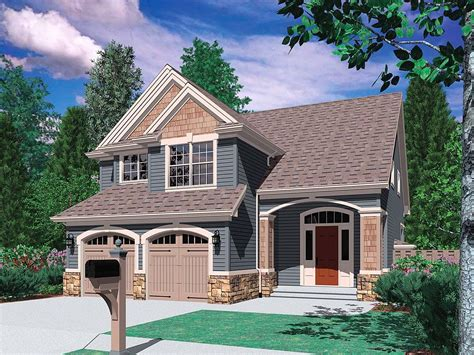 3 Bedroom 2 Bath 2 Car Garage House Plans