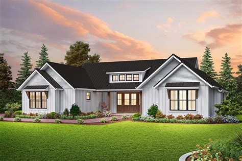 3 Bedroom House Plans Farmhouse