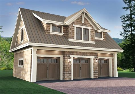 3 Car Garage Apt Plans 1