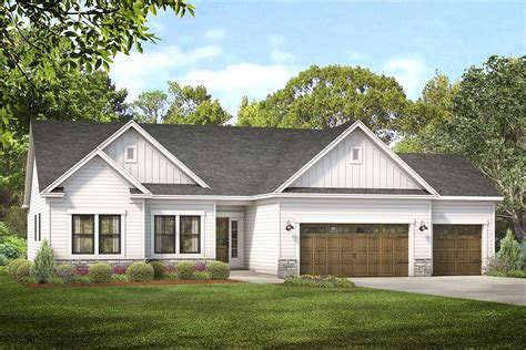 3 Car Garage Home Plans