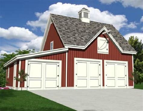 3 Car Garage Pole Barn Plans